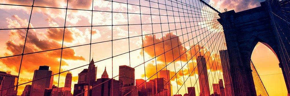 Accent Image - Brooklyn Bridge at Sunrise